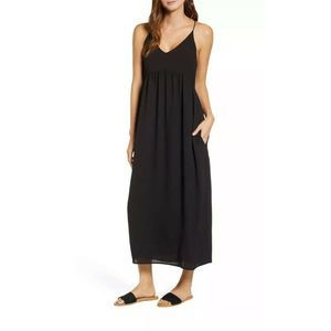 Gibson Black Palm Springs Festival Maxi Dress Sz S
